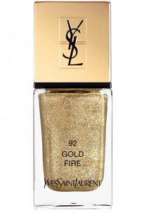 Лак для ногтей La Laque Couture, оттенок 92 YSL Saint Laurent