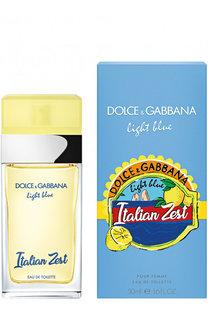 Туалетная вода Light Blue Italian Zest Dolce & Gabbana