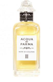 Одеколон Note di Colonia III Acqua di Parma