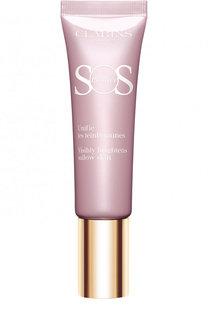 База под макияж для коррекции желтоватого тона кожи SOS Primer 05 Clarins