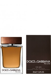 Туалетная вода The One for Men Dolce & Gabbana