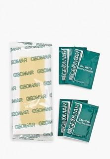 Полоски для депиляции Geomar восковые готовые для нормальной кожи 20 шт