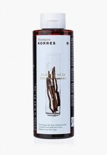 Шампунь Korres для жирных волос с лакрицей и крапивой 250 мл