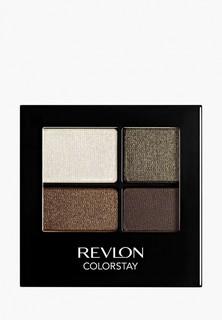 Тени для век Revlon Четырехцветные Colorstay Eye16 Hour Eye Shadow Quad Adventurous 515