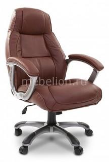 Кресло для руководителя Chairman 436 коричневый/серый, черный