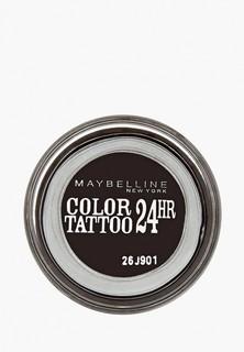 """Тени для век Maybelline New York """"Color Tattoo 24 часа"""" оттенок 60 Бессменный черный 4 мл"""