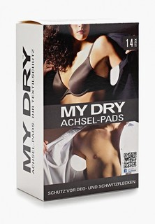 Прокладки для подмышек MyDry от пота в упаковке 14 шт.
