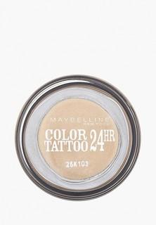 "Тени для век Maybelline New York ""Color Tattoo 24 часа"" оттенок 05 Вечное золото 4 мл"