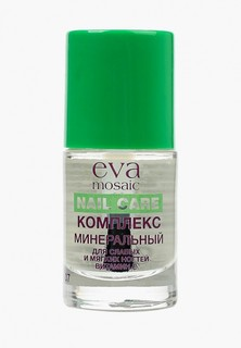 Средство для укрепления ногтей Eva Mosaic минеральное для слабых и мягких с витамином Е, 10 мл