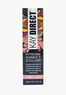 Краска для волос KayPro прямого действия KAY DIRECT пастель корал 100 мл.