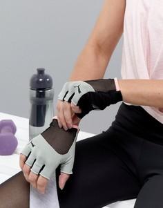 Серые спортивные перчатки Puma - Серый