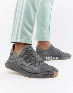 Серые кроссовки adidas Originals Deerupt Runner CQ2627 - Серый