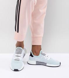 Зеленые кроссовки adidas Originals Deerupt Runner - Черный