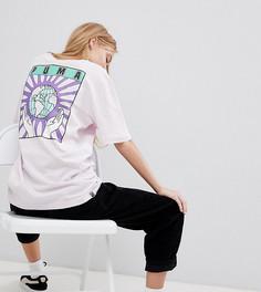 Oversize-футболка из органического хлопка Puma - Фиолетовый