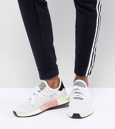 Кроссовки (белый/желтый) adidas Originals Deerupt Runner - Черный