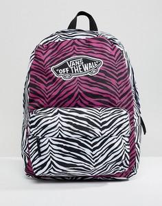 Рюкзак с анималистичным принтом Vans - Розовый