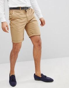 Облегающие шорты чиносы Solid - Бежевый !Solid