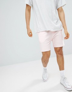 Классические шорты из бархатистого трикотажа Another Influence - Розовый