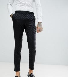 Черные облегающие брюки под смокинг Heart & Dagger - Черный
