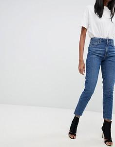 Джинсы в винтажном стиле с завышенной талией G-Star 3301 - Синий