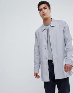 Серый макинтош с карманами FoR - Серый