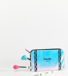 Набор кистей для макияжа в футляре Crayola - Мульти