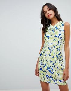 Платье-футляр с цветочным принтом Closet London - Мульти