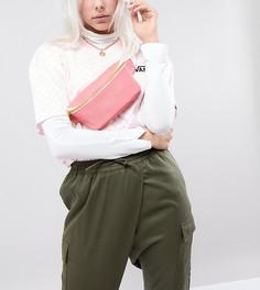 Эксклюзивная розовая сумка-кошелек на пояс Mi-Pac - Розовый