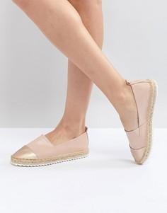 Туфли-слипоны на веревочной подошве Head Over Heels by Dune - Розовый