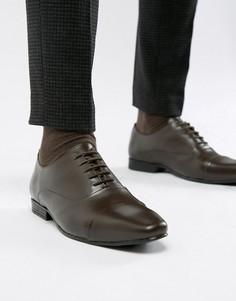 Туфли на шнуровке для широкой стопы KG By Kurt Geiger Kenwall - Коричневый