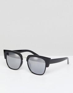 Черные солнцезащитные очки кошачий глаз Glamorous - Черный