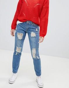 4da8fab99e9 Женские джинсы бойфренды недорогие – купить в интернет-магазине ...