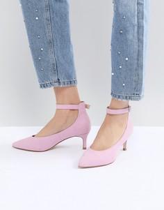 Туфли на каблуке-рюмочке ASOS DESIGN Simi - Розовый