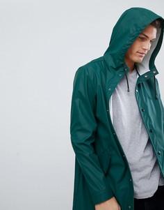 Зеленый водонепроницаемый дождевик ASOS DESIGN - Зеленый