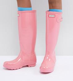 Резиновые сапоги Hunter Original Tall - Розовый