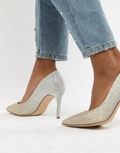Блестящие туфли-лодочки New Look - Золотой