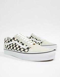 Белые кроссовки Vans Old Skool VA38G127K - Белый