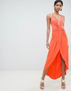 Платье макси ASOS DESIGN - Синий