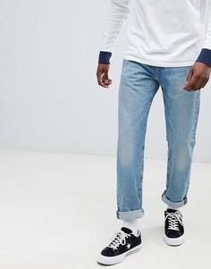 Зауженные джинсы Levis 502 Regular Powder Puff - Синий