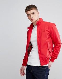 Изготовленная в Англии красная куртка Харрингтон Fred Perry REISSUES - Красный