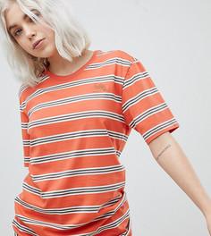 Оранжевая футболка в полоску Nike SB - Оранжевый