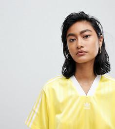 Желтая футболка adidas Originals Fashion League - Желтый