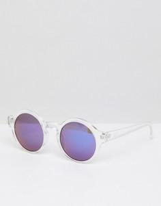 Круглые солнцезащитные очки Jack & Jones - Белый