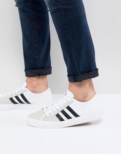 Белые кроссовки adidas Skateboarding Matchcourt RX CQ1129 - Белый