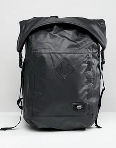 Черный рюкзак ролл-топ Vans Fend VA36YJBLK - Черный