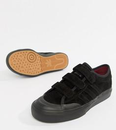 Кроссовки с ремешками adidas Skate Boarding Matchcourt Cf - Черный