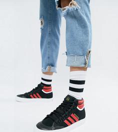 Черные кроссовки adidas Originals Matchcourt High Rx2 - Черный