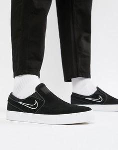91051f37 Черные кроссовки-слипоны Nike SB Zoom Stefan Janoski 833564-004 - Черный
