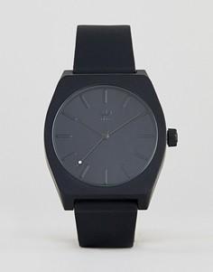Часы с черным силиконовым ремешком Adidas Z10 Process - Черный