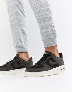 Черные тканые кроссовки Nike Air Force 1 AQ8624-001 - Черный